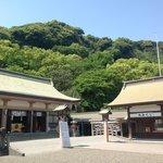 緑あふれる神社です