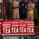 We had great time with Vishnu in Tea Emporium