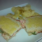 XXL toast chicken, tuna and seafood