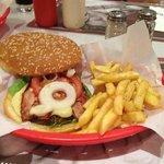 American Diner Burger