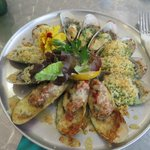 Mussel plate