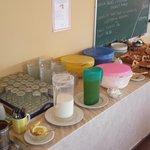 Pantheon Inclusive Breakfast