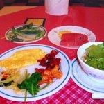 Breakfast. 朝食!