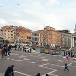 Venedig, Sicht vom Bahnhof