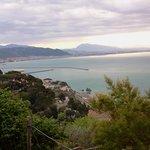 veduta panoramica sul golfo di Salerno