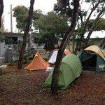 Site K13 in bush camping area