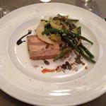 Entrée presse de viande + foie gras