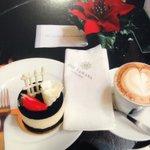 Cafe.タワナホテル カフェにて!