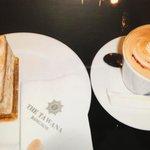 Cafe. タワナホテルのカフェにて!