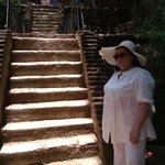 Climbing to Lion Rock