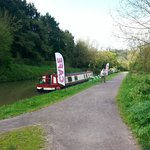 The Cafe Boat, Kennet & Avon Canal, between Bradford on Avon and Avoncliff