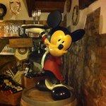 Il topolino all'ingresso