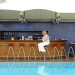 zwembad en lounge