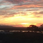 Awesome sunset Noosa Hinterland best room view ever