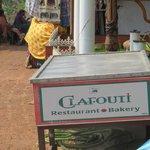 The restaurant name