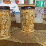 Beers served in Goa mugs