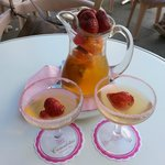 sangria (champagne) - 0,5 litre - about 9 euros