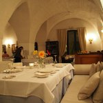 dinner at restaurant Torre Maizza