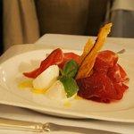 starter at the restaurant Torre Maizza