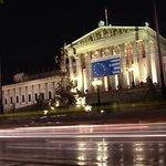 Noche en el parlamento