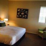 bedroom of the 1 Bed Spa Villa