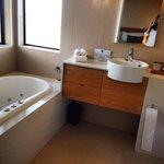 bathroom of the 1 Bed Spa Villa
