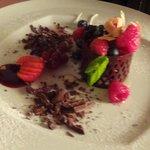 Dessert (Very nice presentation)