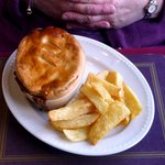 Steak & Ale pie - main course