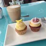 Coffee and cupcakes in amazing aircon