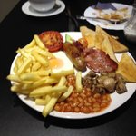 An awesome Full English Breakfast at a very fair price