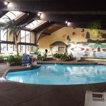 Indoor pool and Jacuzzi very well kept.