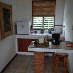 Küchenbereich im Zimmer