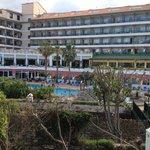 Hotel vu du jardin
