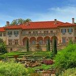Villa Philbrook from the Garden
