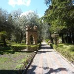 English Garden in Taormina