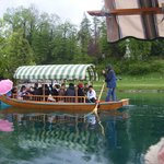 Gita in barca per raggiungere