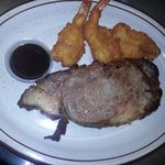 prime rib and shrimp special