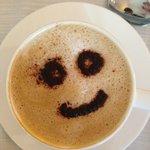 Кофе с улыбкой