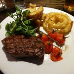 What a proper steak dinner should look like :)
