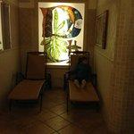 Sala relax  e sauna
