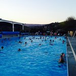 Evening swim with live music on the band stand, great event for all ages.