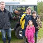 "Guy family ""Introduction to Falconry"""