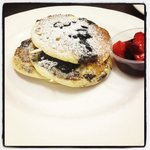 Blueberry pan cakes