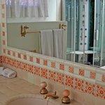 Baño con sauna