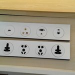 Power board with sockets