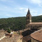 Vue sur les toits de Collias