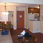 Large, inviting suite at Desert Rose Resort