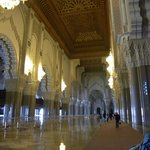 The main aisle of the mosque