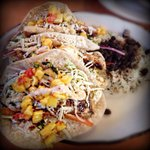 AMAZING fish tacos!! Definitely would recommend getting these!!!