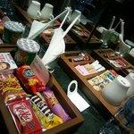 Snack in the mini-bar